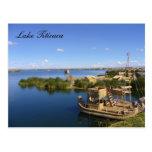 barcos del titicaca tarjetas postales