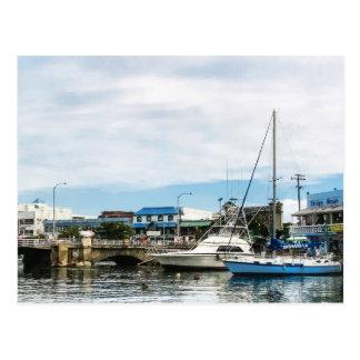 Barcos en Bridgetown Barbados Tarjetas Postales