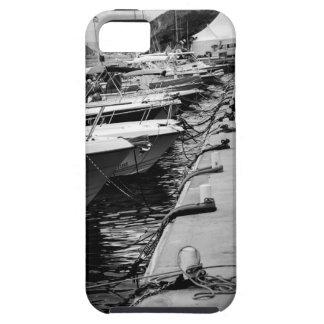 """Barcos en caso del iPhone 5/5S de una fila"" iPhone 5 Carcasa"