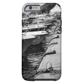 """Barcos en caso del iPhone 6 de una fila"" Funda De iPhone 6 Tough"