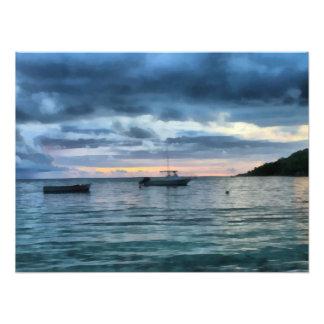 Barcos en descanso cojinete