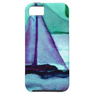 Barcos en el arte CricketDiane de la navegación de iPhone 5 Carcasas