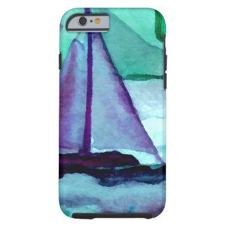 Barcos en el arte CricketDiane de la navegación de Funda Para iPhone 6 Tough