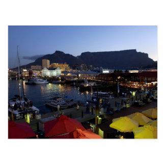Barcos en el puerto, Suráfrica Tarjetas Postales