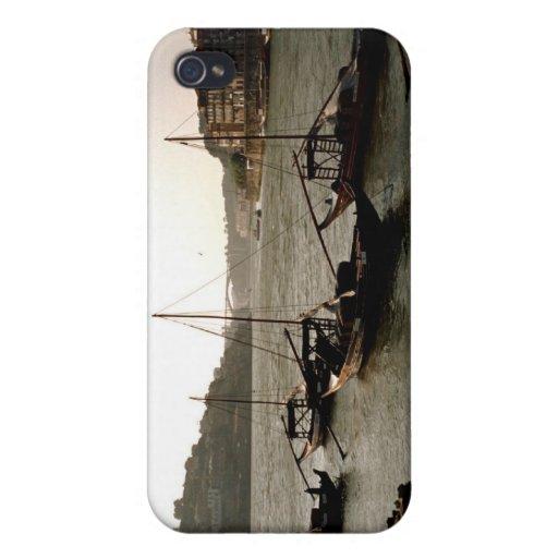 Barcos en el río el Duero iPhone 4/4S Funda