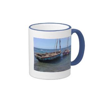 Barcos en Haití Tazas