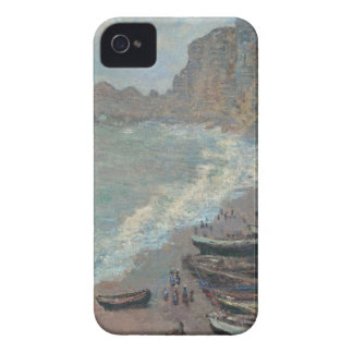 Barcos en la playa, Claude Monet iPhone 4 Cárcasa