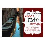 Barcos en los edificios de Venecia Italia del agua Anuncios