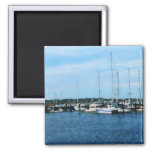 Barcos en Newport RI Iman Para Frigorífico