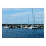 Barcos en Newport RI Tarjeton