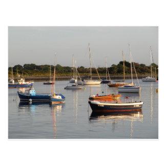 Barcos en Renville Tarjeta Postal