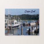 Barcos en un puerto de Cape Cod Rompecabezas