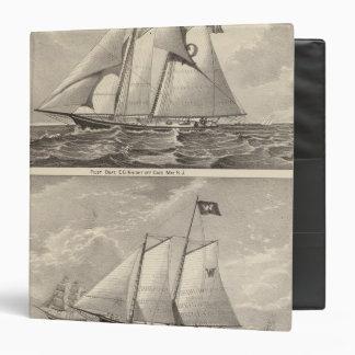 """Barcos experimentales EG. Caballero y Whilldin Carpeta 1 1/2"""""""