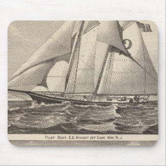 Barcos experimentales EG. Caballero y Whilldin Mousepads