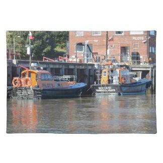Barcos experimentales mantel individual