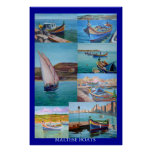 Barcos malteses posters
