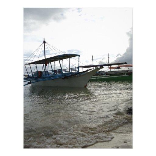 Barcos Membrete A Diseño