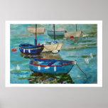 Barcos pesqueros al puerto