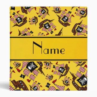 Barcos piratas amarillos conocidos personalizados