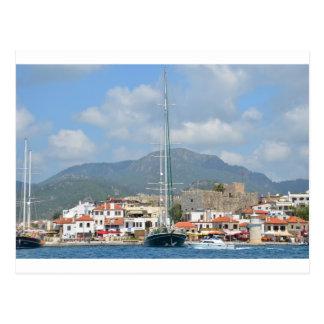 Barcos turísticos en Turquía Postal