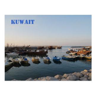 Barcos viejos, Kuwait Postales