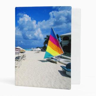 Barcos y sillas de playa mini carpeta