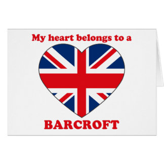 Barcroft Greeting Card