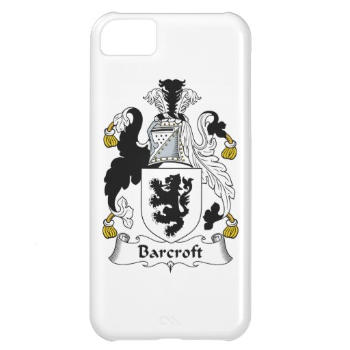 Barcroft Family Crest Case For iPhone 5C