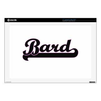 Bard Classic Job Design Laptop Decal