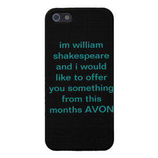 bard of avon iPhone SE/5/5s cover