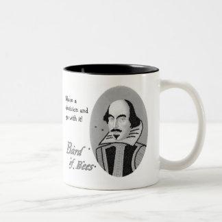 Bard of Bees - Mug (customizable caption)