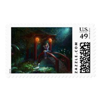 Bard Postage Stamp
