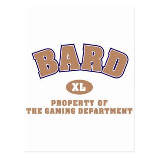 Bard Postcard