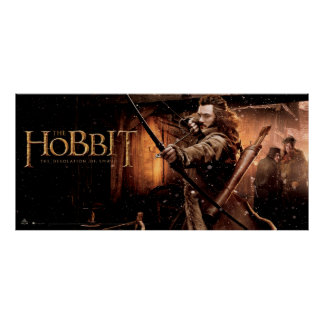 BARD THE BOWMAN™ and Characters Movie Poster Poster