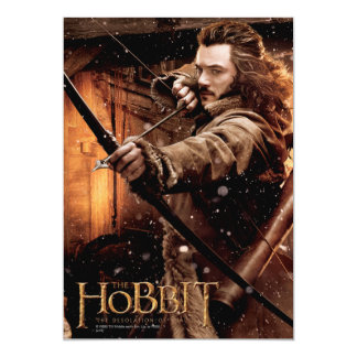 BARD THE BOWMAN™  and Characters Movie Poster 5x7 Paper Invitation Card