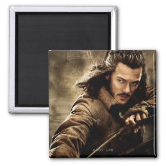 BARD THE BOWMAN™ Character Poster 1 2 Inch Square Magnet