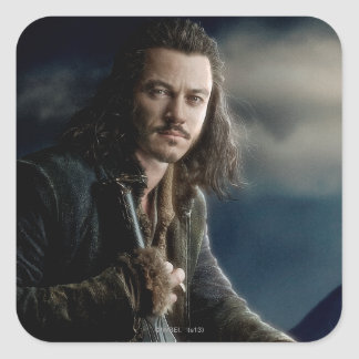 BARD THE BOWMAN™ Character Poster 2 Square Sticker