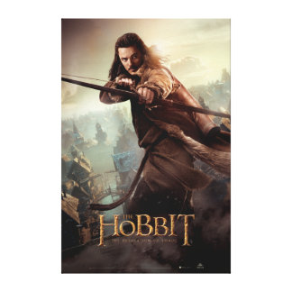 BARD THE BOWMAN™ Character Poster 3 Canvas Print
