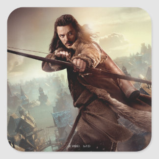 BARD THE BOWMAN™ Character Poster 3 Square Sticker