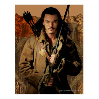 BARD THE BOWMAN™ Framed Graphic Postcard