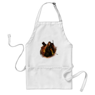 BARD THE BOWMAN™ Graphic Adult Apron