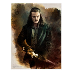 Bard The Bowman™ Graphic Postcard at Zazzle