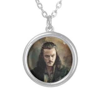 BARD THE BOWMAN™ Graphic Silver Plated Necklace