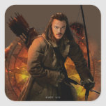 BARD THE BOWMAN™ Graphic Square Stickers