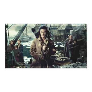 BARD THE BOWMAN™ in Laketown Canvas Print