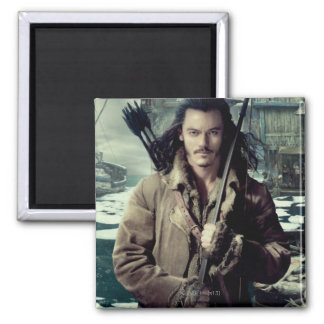 BARD THE BOWMAN™ in Laketown 2 Inch Square Magnet