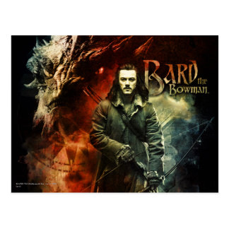 BARD THE BOWMAN™ & Smaug Postcard