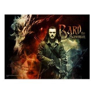 BARD THE BOWMAN™ & Smaug Postcard