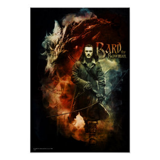 BARD THE BOWMAN™ & Smaug Poster