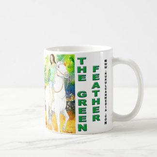 Bardala levatating Shaman- The Green Feather Coffee Mug